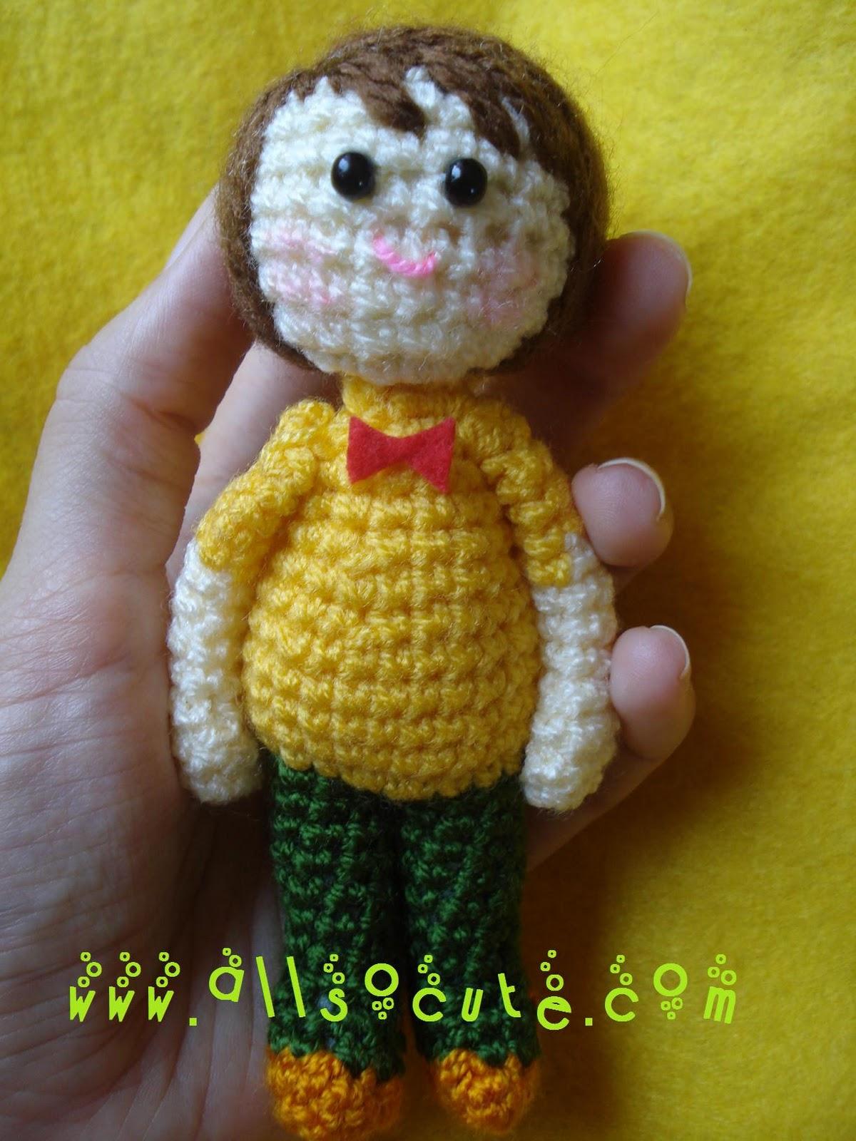 Amigurumi Blogspot : AllSoCute Amigurumis: Cute Amigurumi Boy