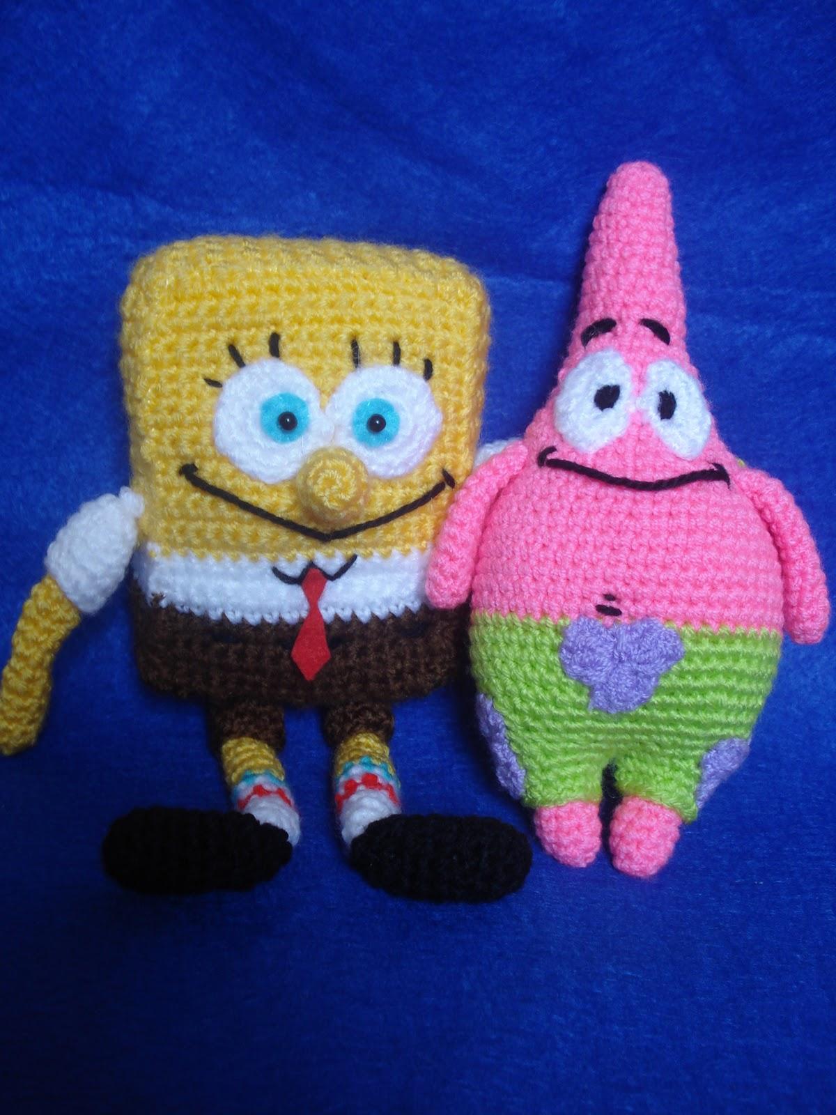 CROCHET PATTERN FOR SPONGEBOB – Crochet Club