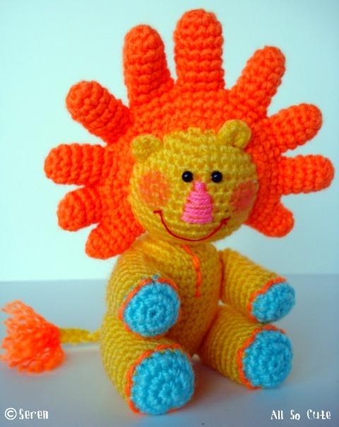 Crochet Amigurumi Faces : AllSoCute Amigurumis: Amigurumi Lion named Sunny / G?ne? ...