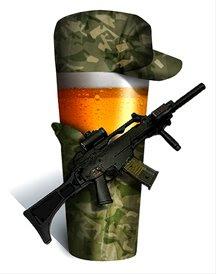 Soldiers fined for drunken prank