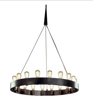 Cool Candelaria Chandelier by Robert Abbey