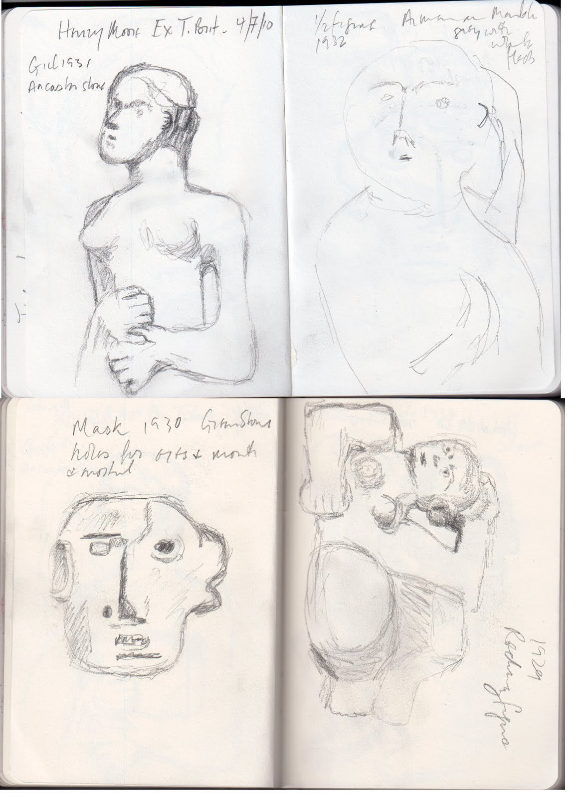 43 Henry Rubie 43 Henry Moore At Tate Britain