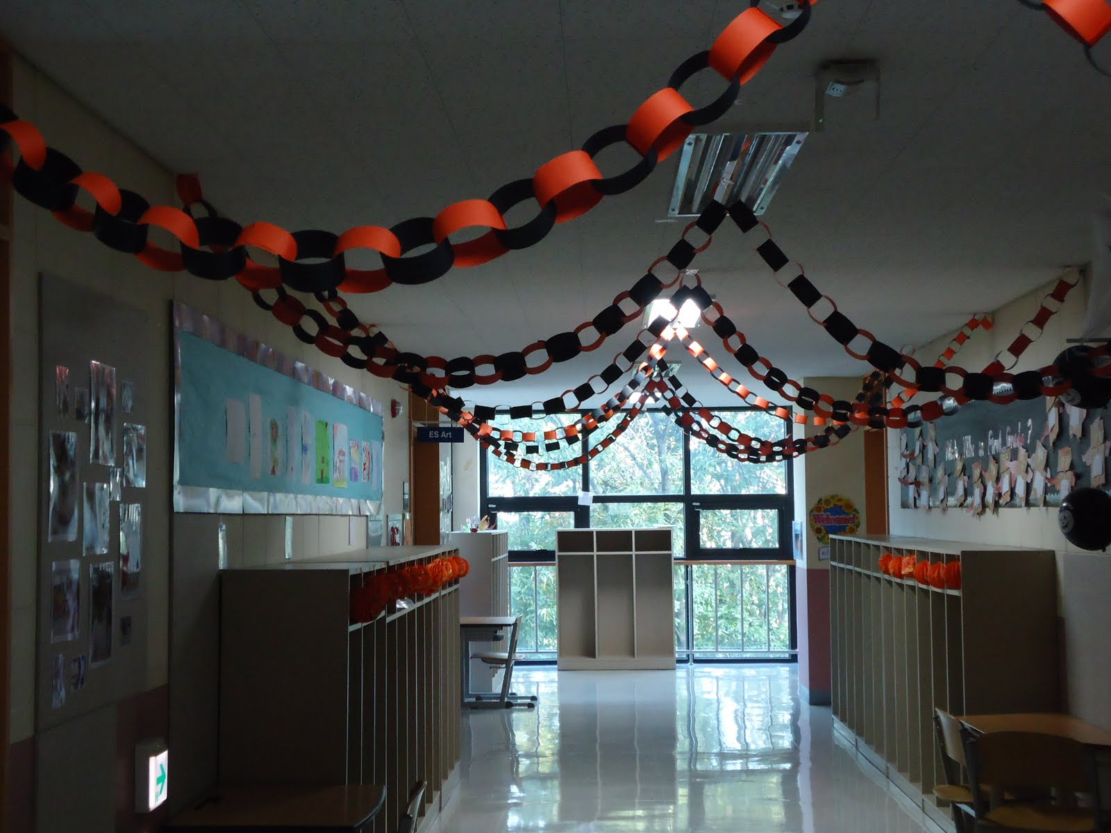 Classroom Halloween Decor ~ Too much black and orange early s got seoul
