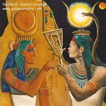 ISIS Y OSIRIS. Ra o el Sol preside la horneada.Isis(o la luna) rige sus aspectos nocturnos.