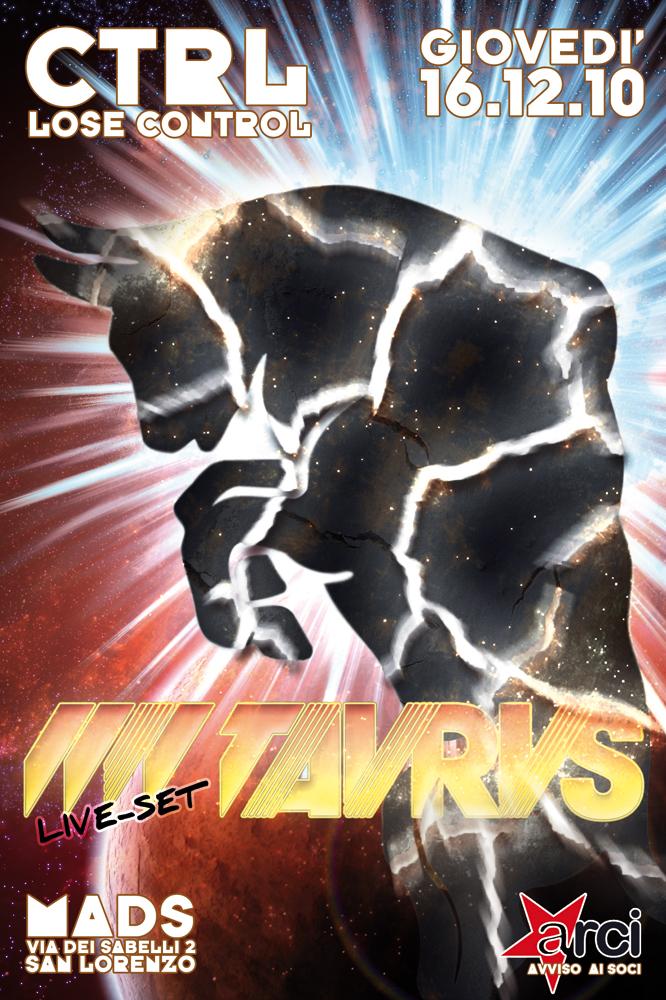 CTRL Lose Control 16.12.10 @ Mads – Live TAVRVS
