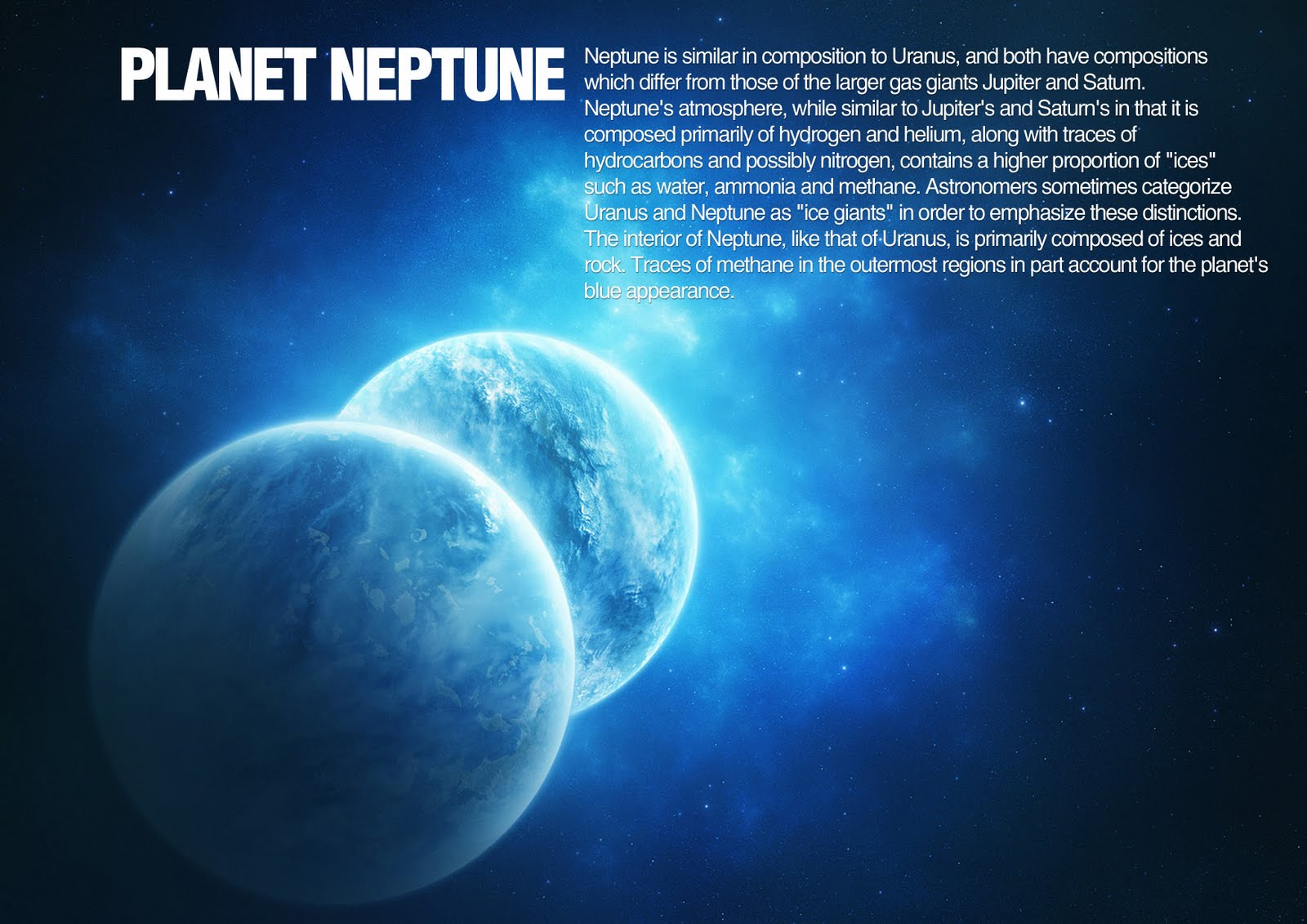 Neptune Planet Project wallpaper 1080p