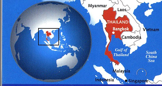 Where is Thailand?