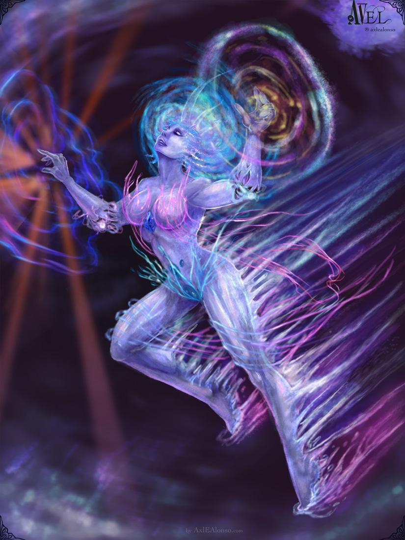 Axel Eztudio Regina Pure Goddess Of The Crystal