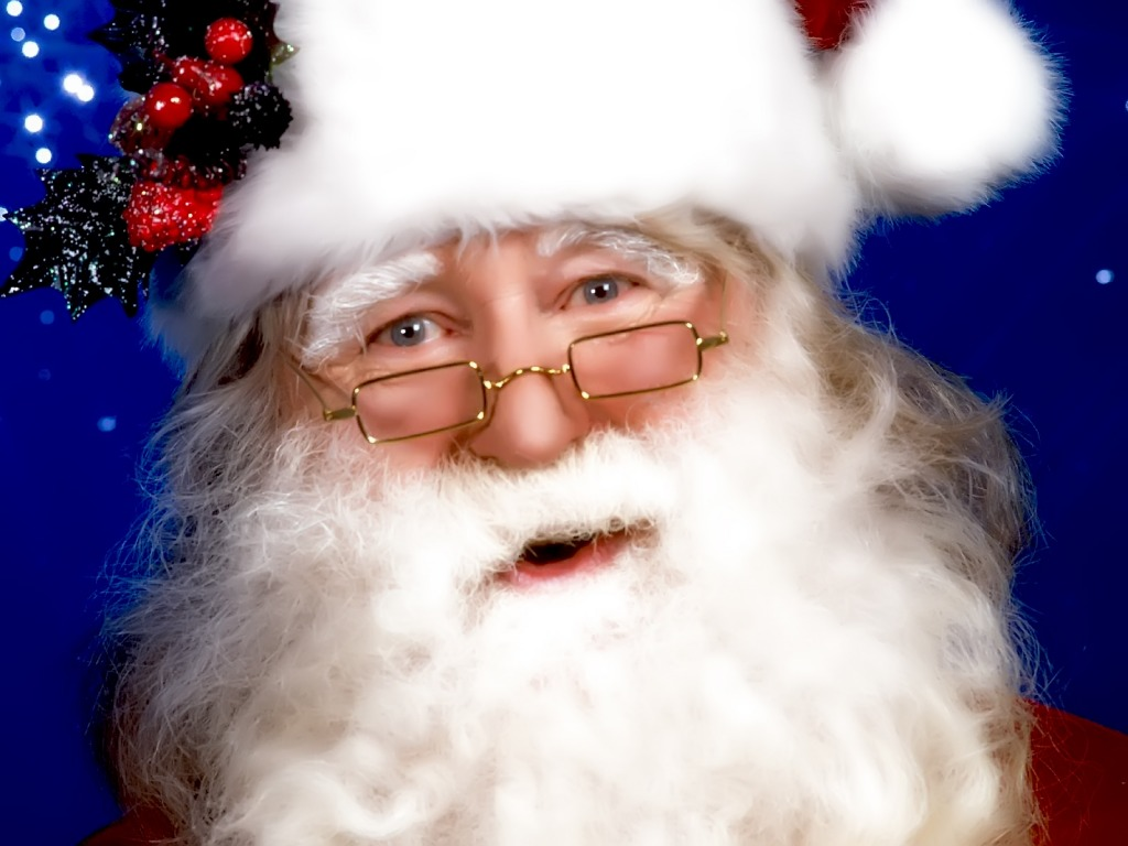 computer wallpaper santa claus face -#main