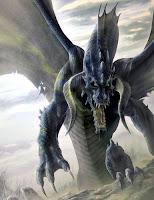 дракон тьмы поднявшийся из ада