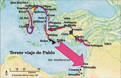 San pablo hoy los viajes de pablo for Cuarto viaje de san pablo