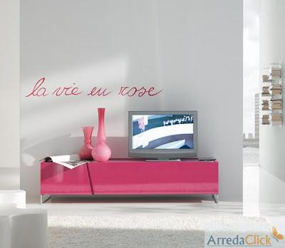porta-tv Panel 90° è invece un arredo di tendenza, con il suo viola ...
