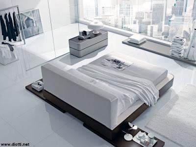 mobili ed arredamento dinterni: Il letto matrimoniale a centro stanza ...