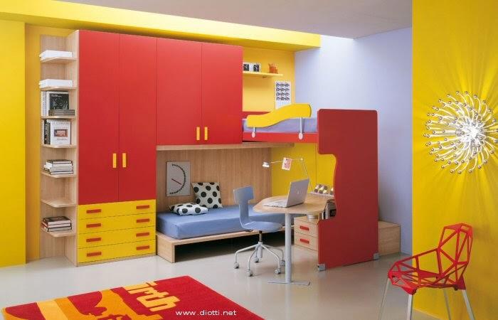 ... mobili ed arredamento dinterni: Camerette trasformabili: tutto in
