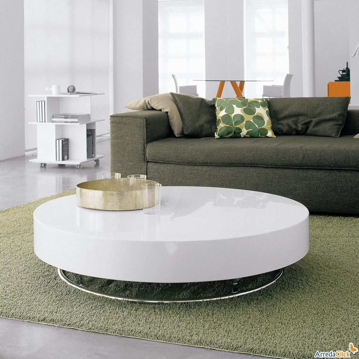Tavolino Salotto Moderno Bianco: Tavolini da soggiorno in legno ...