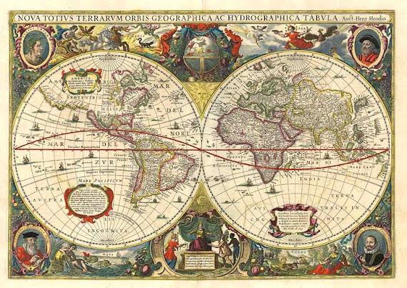 Mapa Mundi Antigo
