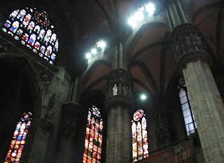Il Duomo sisäpuolella