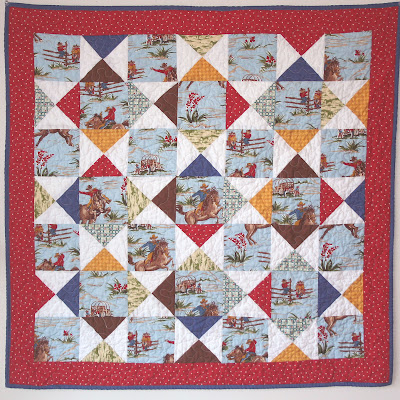 BABY COWBOY PATTERN QUILT | Design Patterns