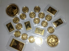 Gold Bar and Dinar Public Gold