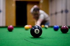 Behind the 8 Ball by flickr user jorr81
