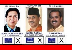 Undilah calon BN