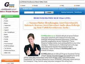 Script Website Bisnis Matrix MLM nx20 Level