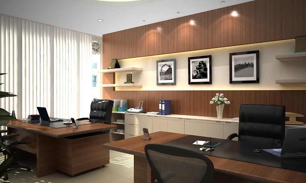 D 39 vinci design and build contractor interior project for Office room style