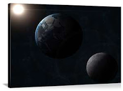Sun, Earth, and Moon