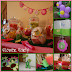 Pretty Floral Birthday Decorations