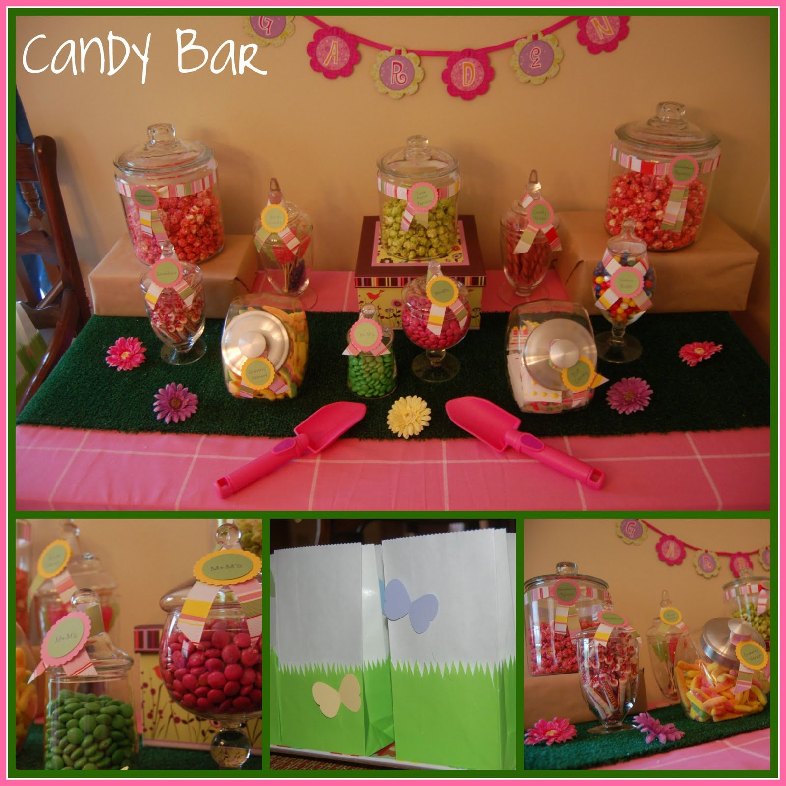 Candybarcollage2g flower birthday party izmirmasajfo Images