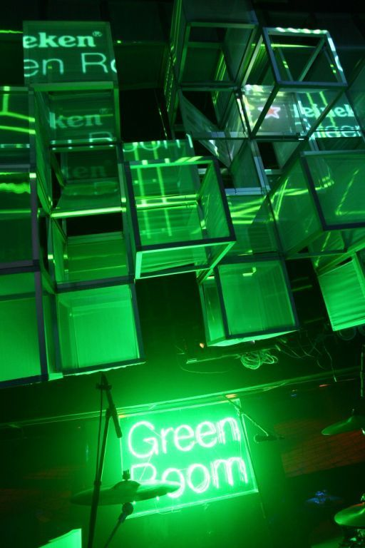 That Girl Cynthia: Heineken Green Room