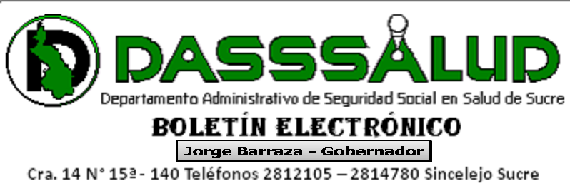 Boletin Electrónico Dasssalud Sucre