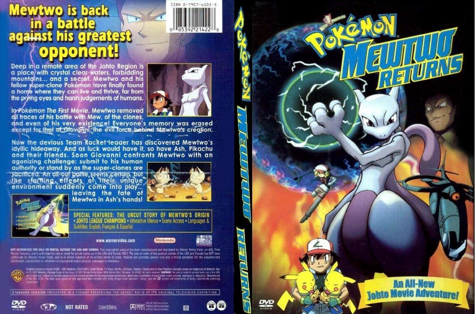Pin Mewtwo Returns Special on Pinterest Pokemon Mewtwo Returns Dvd