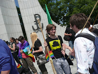 Demo for civil unions, July 14th, photo by Magda Mosiewicz