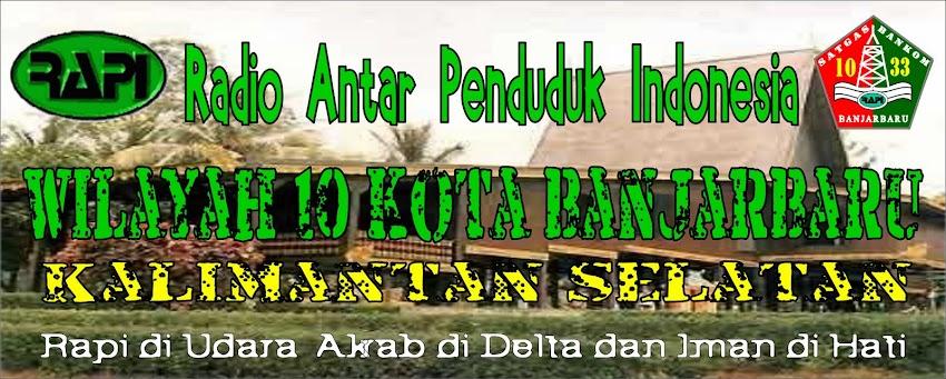 .: RAPI Wilayah 10 Kota Banjarbaru :.