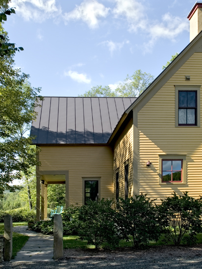 Farmhouse acres standing seam metal roof for Farmhouse metal roof