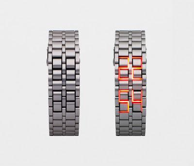 Relógio LED Faceless