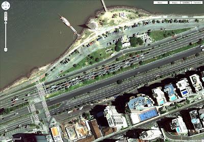 Google Maps atualiza fotos de São Paulo e Floripa com mais detalhes