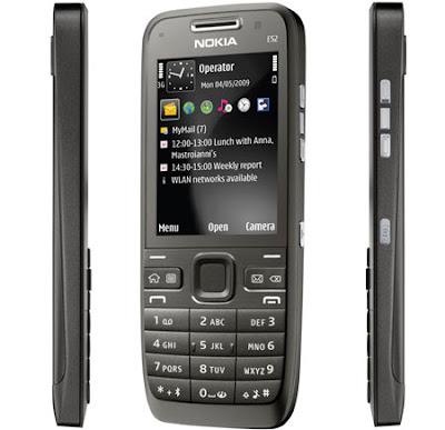 Nokia E52 tem Stand By de 23 dias de duração.