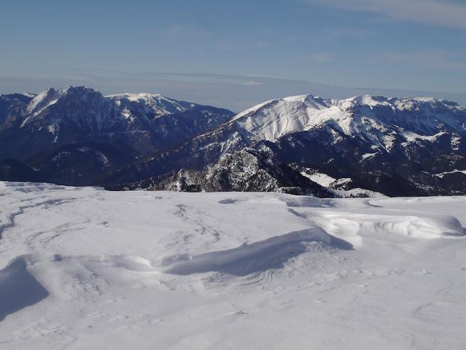 El Pedraforca i el Cadí des de la Tossa d'Alp (Cerdanya)