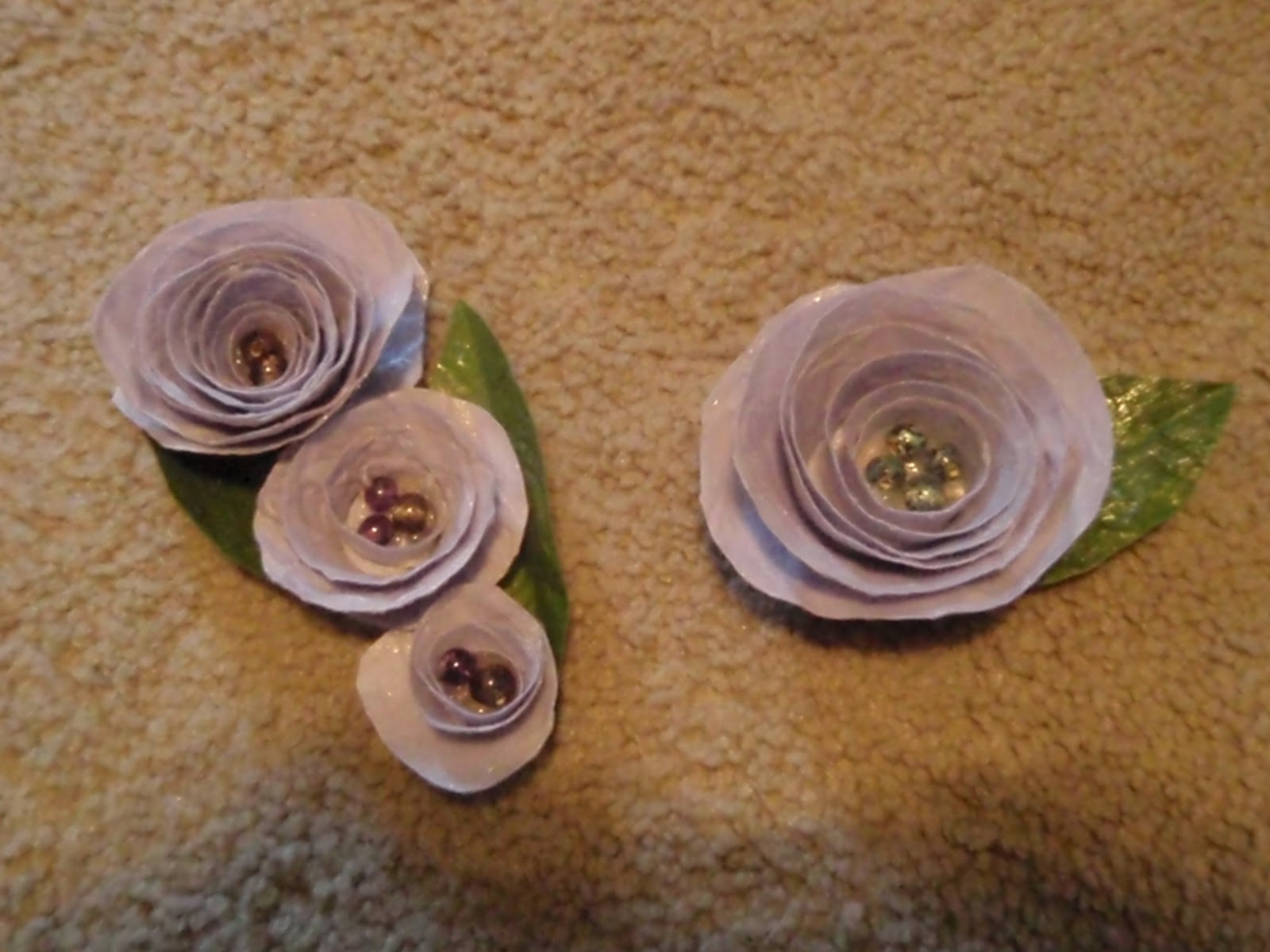 Our Day In The Making Diy Paper Flowers
