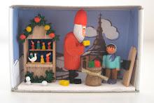 Matchbox Santa