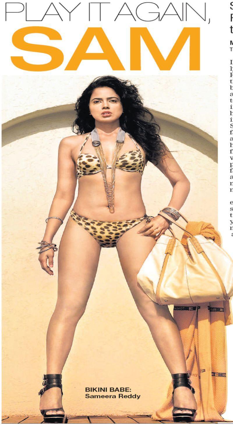 Actress Photo Gallery Pictures of Tamil Hindi Telugu Sameera reddy bikini pictures