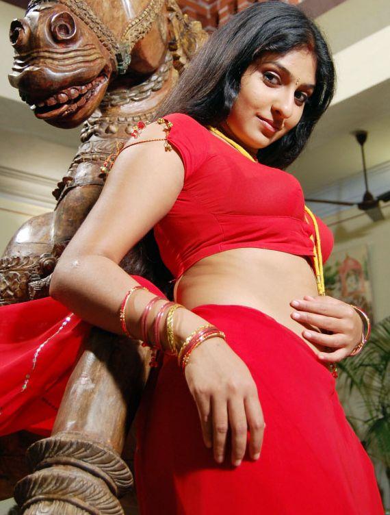 Thread: Hot Sexy Tamil Actress Monica Red Hot Saree Removing Stills