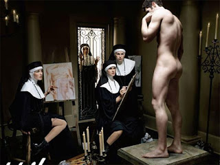 Exhibited Boys: Stripped naked for the nuns