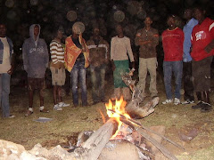Around the fire - SU Ruacana H.S. Camp, 2007