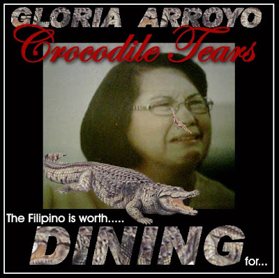 Gloria 'Crocodile Tears' Arroyo