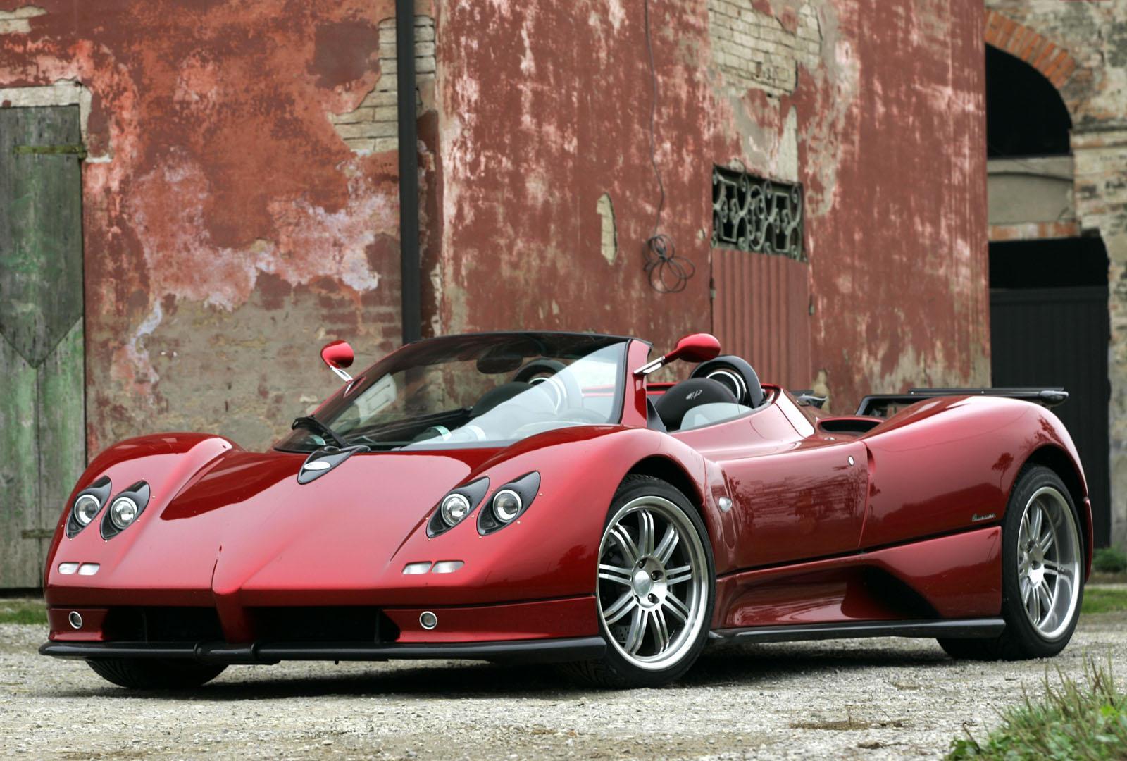 Cinque Pagani Zonda Roadster, Luxury Cars Worth 1.3 Million Euro