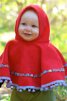 Christmas Gift Idea for the Little Girl on Your List (6 months to 6 years): Skipping Hippos Poncho 2