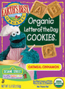 Product Review: Earth's Best Organic Letter of the Day Cookies 1